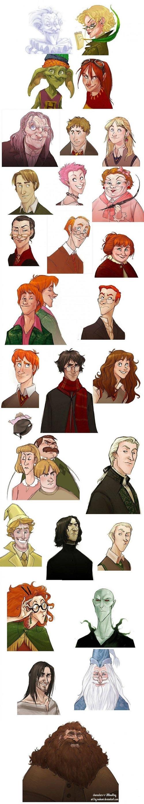 E se Harry Potter fosse um desenho da Disney?